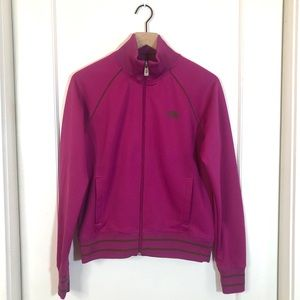 the North Face womens Jacket fuschia brown Large